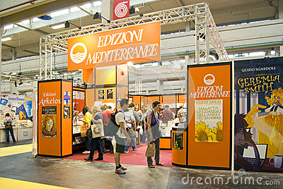 International Book Fair 2012 - Turin Editorial Image