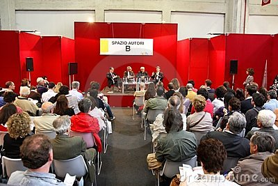 International Book Fair (Salone del Libro) Turin Editorial Photography