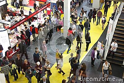 International Book Fair (Salone del Libro) Turin Editorial Image