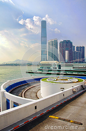 International Commerce Center Editorial Stock Image