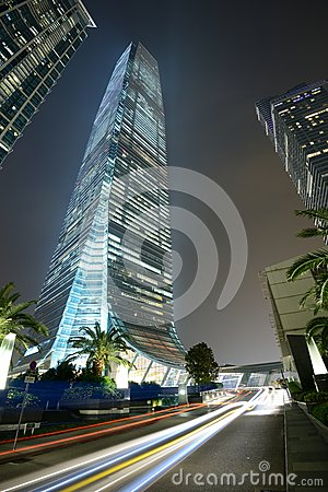 International Commerce Centre Editorial Stock Image