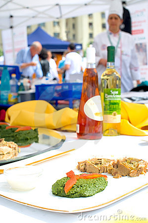 Free International Competition For Outdoor Cooking Royalty Free Stock Photos - 22151018