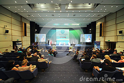 International Conference of the Healthcare Industry Medicine 2012 Editorial Stock Image