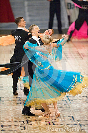 International contest Dance Masters 2010 Editorial Image