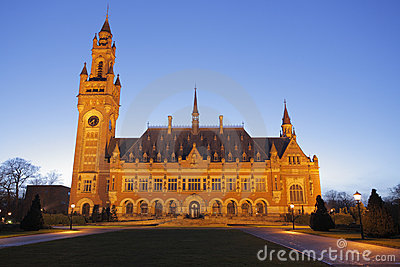International Court of Justice, The Hague, Netherl
