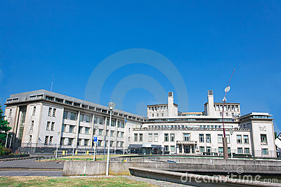 International Criminal Tribunal Yugoslavia ICTY Editorial Stock Photo
