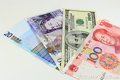 International Currencies Editorial Photography