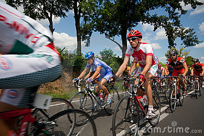 International cycle race Editorial Stock Image