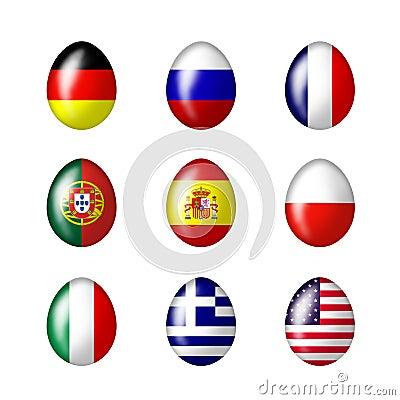 International Easter eggs