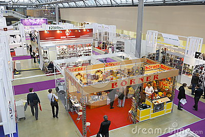 International Exhibition CONSUMEXPO Editorial Stock Image