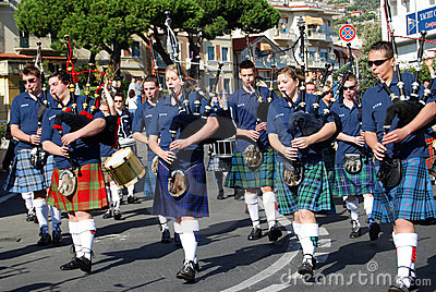 International Festival of Music Bands Editorial Stock Image