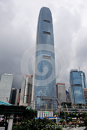 International Finance Centre Editorial Photo
