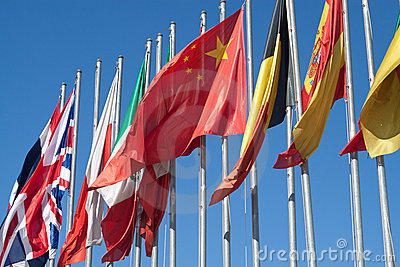 International Flags Royalty Free Stock Images - Image: 21357579