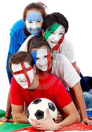 International football fans