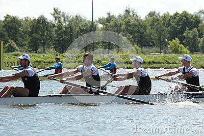 International Grand Moscow Regatta Editorial Stock Image