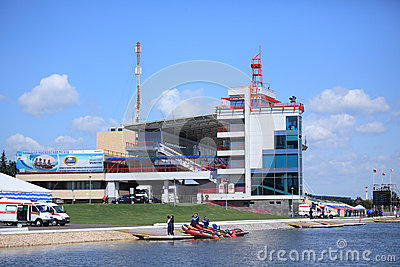 International Grand Moscow Regatta Editorial Stock Photo