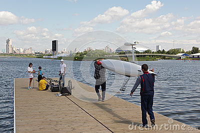 International Grand Moscow Regatta Editorial Image