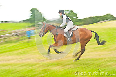 International Horse trial at Burgie Editorial Stock Photo