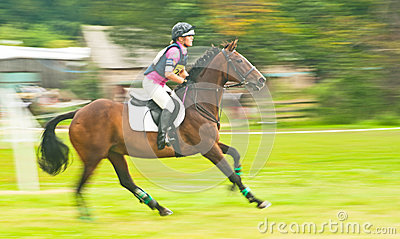 International Horse trial at Burgie Editorial Stock Image