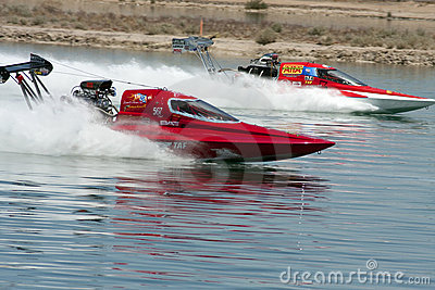 International Hydroplane Drag Racing Editorial Image