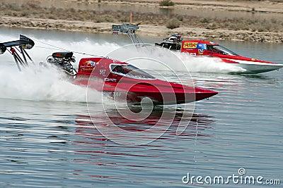 International Hydroplane Boat Drag Racing Editorial Image