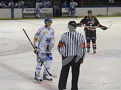 International ice hockey tournament in Lyon Editorial Stock Image