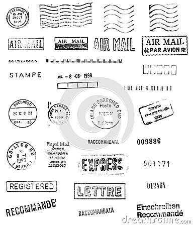 Free International Mail Royalty Free Stock Photography - 2081137