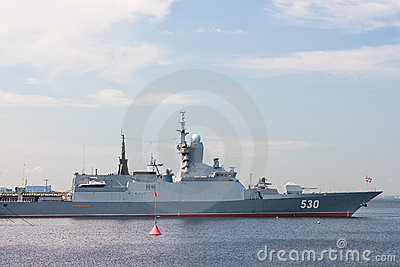 International Maritime Defence Show in St. Petersb Editorial Image
