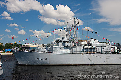 International Maritime Defence Show in St. Petersb Editorial Stock Image