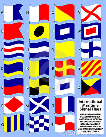 International Maritime Signal Flags/eps