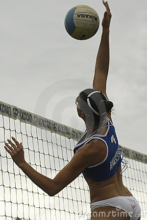International Master Beachvolley Series 2008 Editorial Stock Image