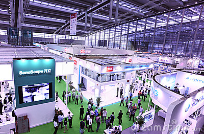 International medical equipment fair Editorial Image