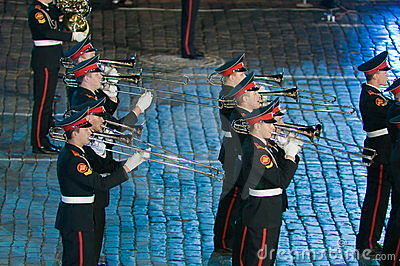 The international military-musical festival Editorial Image