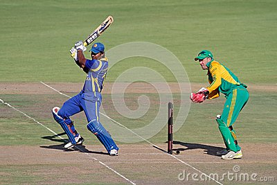 International one-day cricket Editorial Photography