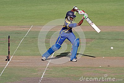 International one-day cricket Editorial Stock Image