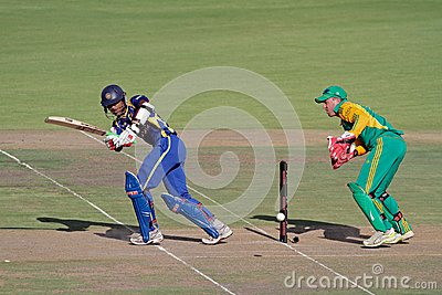 International one-day cricket Editorial Stock Photo