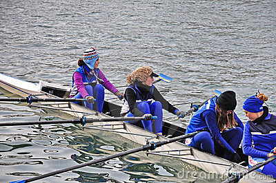 International Rowing Regatta in Turin Editorial Photography