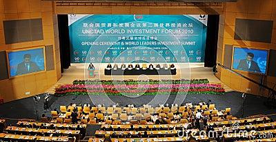 International seminar of united nations Editorial Stock Photo