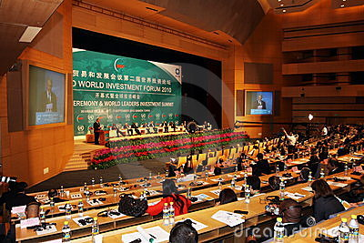 International seminar of united nations Editorial Photography