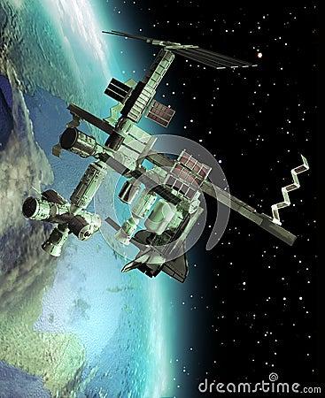 Free International Space Station Stock Image - 34990781