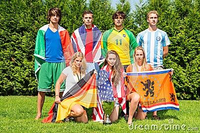 International sportsteam