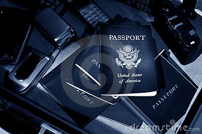 International Spy Passport & Cell Phone Kit