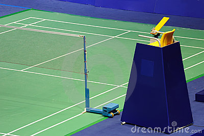 International standard Badminton court