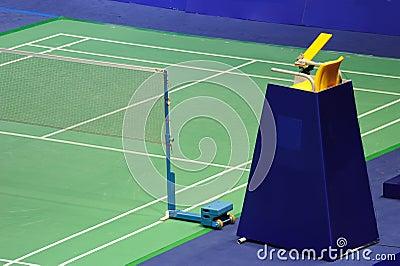 International standard Badminton court