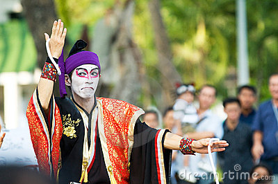 International Street Show in Bangkok 2010 Editorial Photo