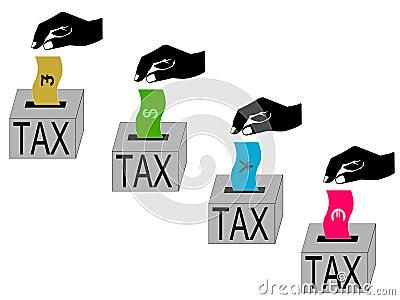 International tax paying