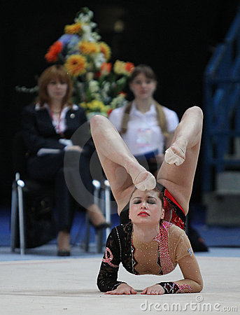 International Tournament in Rhythmic Gymnastics Editorial Image