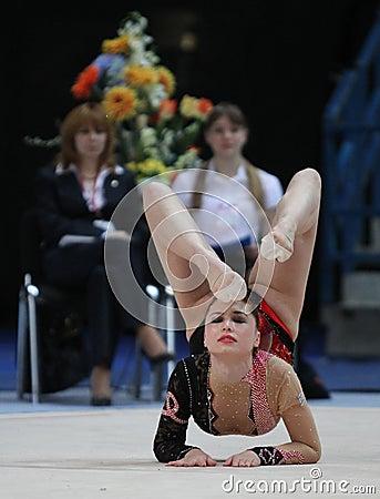 International Tournament in Rhythmic Gymnastics Editorial Image