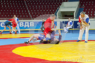 The international tournament on sambo Editorial Photography