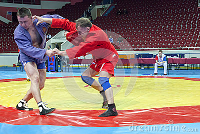 The international tournament on sambo Editorial Photo